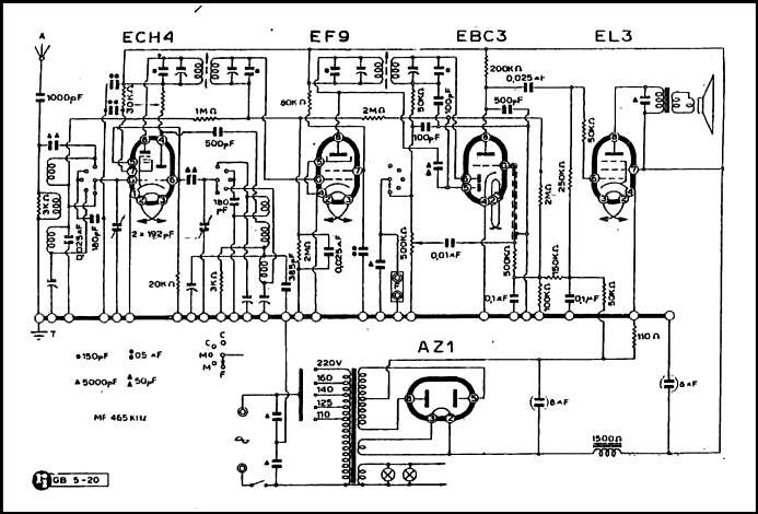 Schemi Elettrici Gratis : Schema elettrico radio a valvole pannelli termoisolanti
